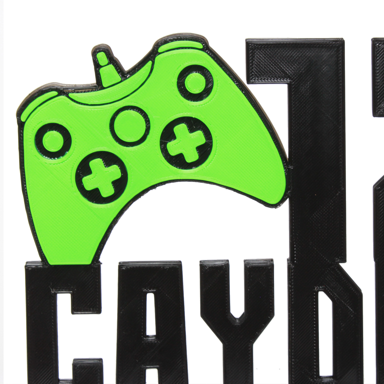 Gaming Cake Topper personalized name or age Game control cake topper Gamer Bithday Party!
